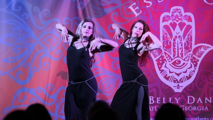 Tjarda Van Straten and Kami Liddle at Essence of Belly Dance 2015