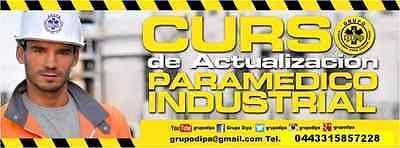 Curso de Actualización Paramedico Industrial.  #Curso, #Actualizacion, #Paramedico, #Industrial