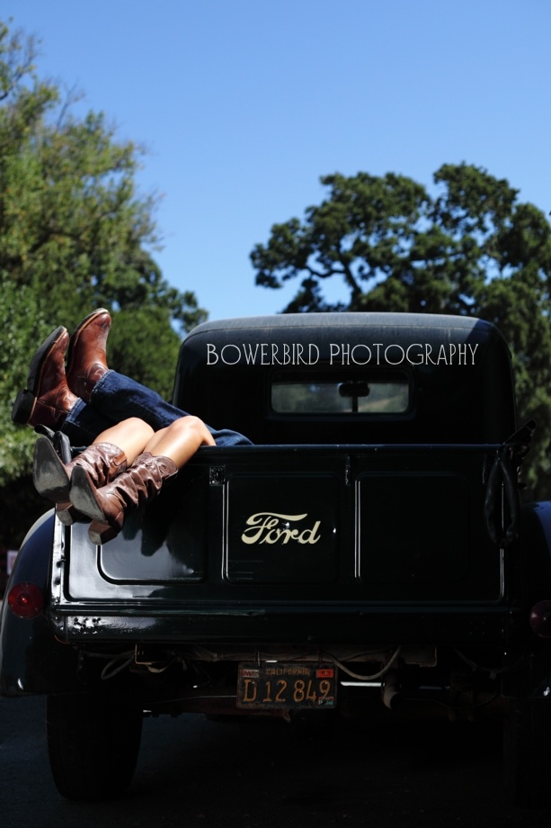 Bowerbird Photography. An old Ford truck for couples ...