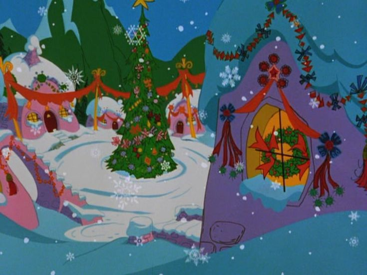 The Grinch Who Stole Christmas Movie Whoville 58 best Grinch images ...