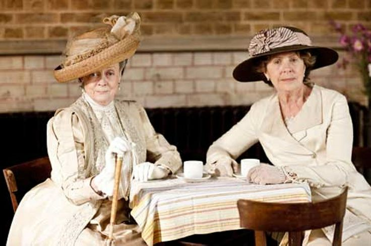 Downton Annual Flower Show - Dowager Countess Grantham and Isobel Crawley - Isobel tells Violet that her win each year is because of her status, the town feels obligated to award her the trophy