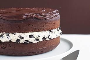 Chocolate Covered Oreo Cookie Cake... Yes PleaseCookie Cakes, Fun Recipe, Chocolatecovered Oreo, Chocolates Cov Oreo, Oreo Cookies Cake, Chocolates Covers Oreo, Cookies Cake Recipe, Cake Recipes, Oreo Cake