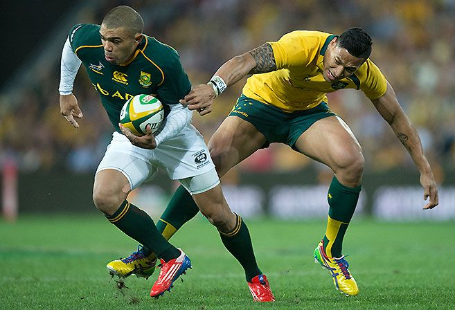#Rugby #RugbyChampionship The Wallabies win it with a late try. Full Time #Wallabies 24 #Springboks 23 http://ozsportsreviews.com/2010/11/international-rugby-round-up/