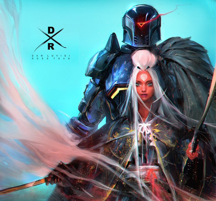 Gabriel and Nima (COLLAB!) YouTube! by rossdraws cyberpunk female samurai ninja assassin thief rogue robot cyborg fighter paladin armor clothes clothing fashion player character npc | Create your own roleplaying game material w/ RPG Bard: www.rpgbard.com | Writing inspiration for Dungeons and Dragons DND D&D Pathfinder PFRPG Warhammer 40k Star Wars Shadowrun Call of Cthulhu Lord of the Rings LoTR + d20 fantasy science fiction scifi horror design | Not Trusty Sword art: click artwork for…
