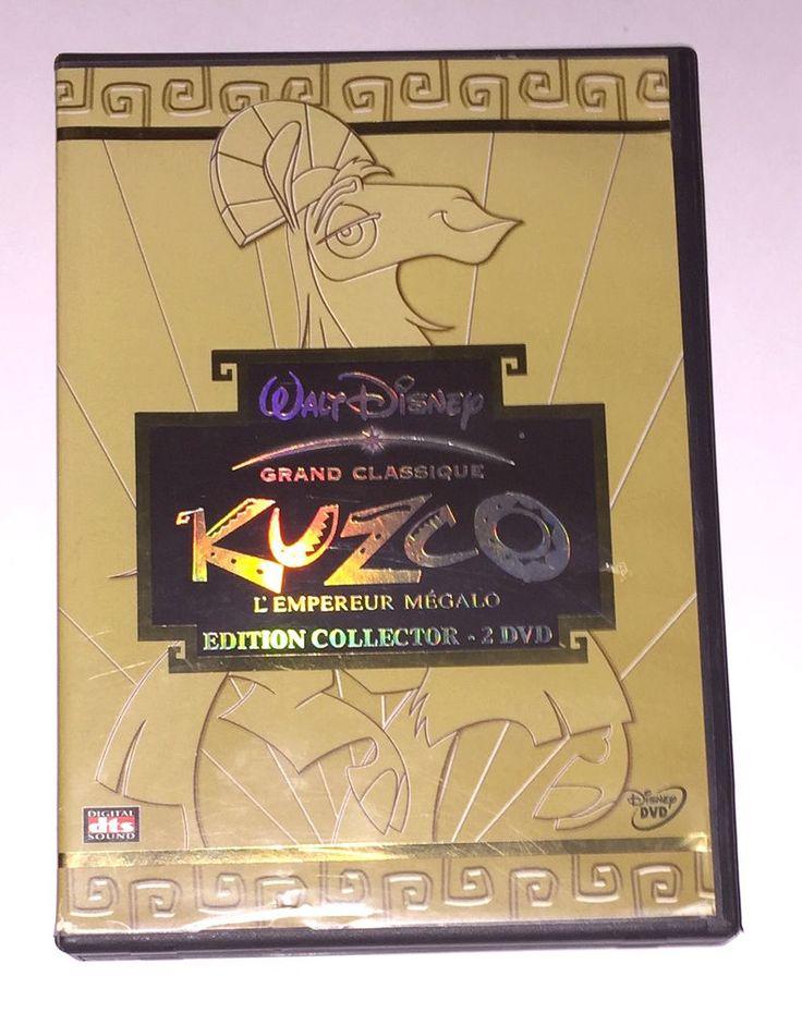 DVD Disney Kuzco Edition Collector 2 DVD L empereur mégalo