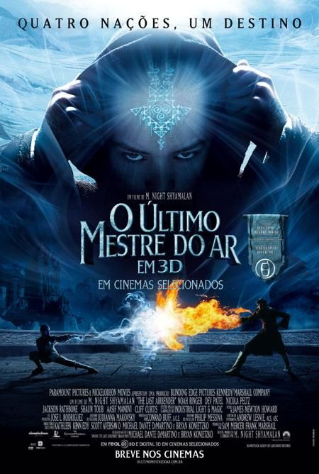 Filme | O Último Mestre do Ar (The Last Airbender) | CinePOP