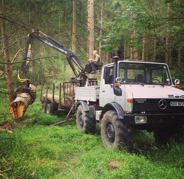 Forest Unimog