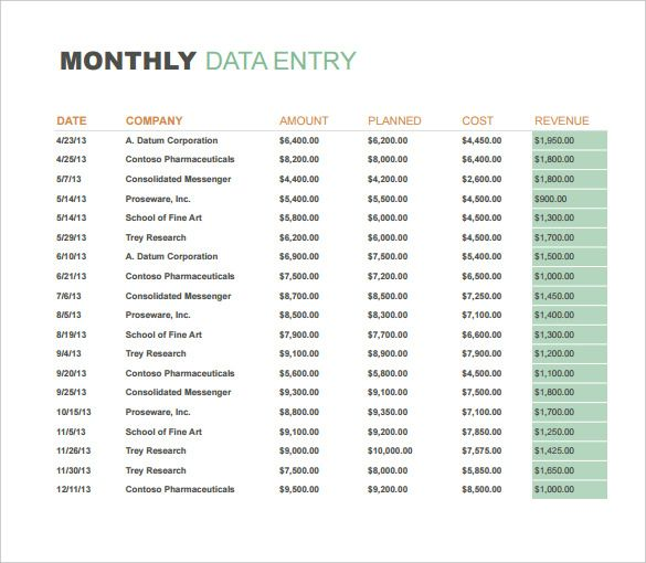 10 Monthly Sales Report Templates Word Excel Pdf Format