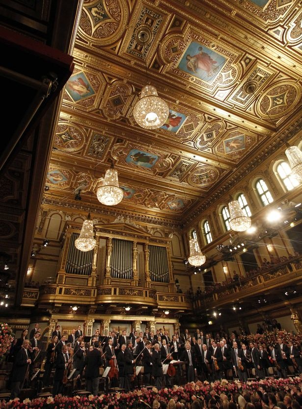 The Musikverein where Gottesmann conducted  Sunday orchestra concerts and the Gottesmann Quartet often performed.