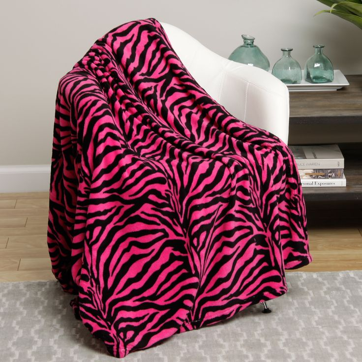 Zebra Microplush Blanket Brown King Blanket Zebra