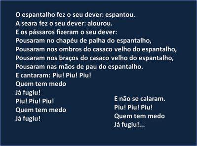Poema de Matilde Rosa Araújo in «Mistérios», Livros horizonte, 1988---------- Proposta de trabalho de texto para crianças do 4º ano de escolaridade --------- Video aqui http://youtu.be/J9YgLZdM7ZA