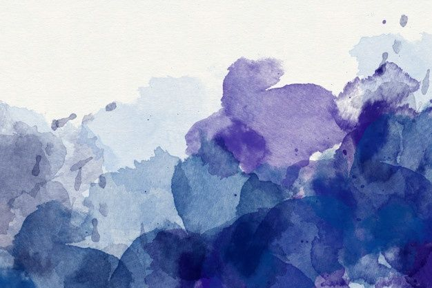 Purple Abstract Watercolor Background Abstract Watercolor