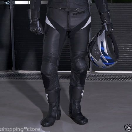 MOTORCYCLE RACING BIKER TROUSER LEATHER MOTORBIKE PANT LEATHER TROUSER ALL-SIZE