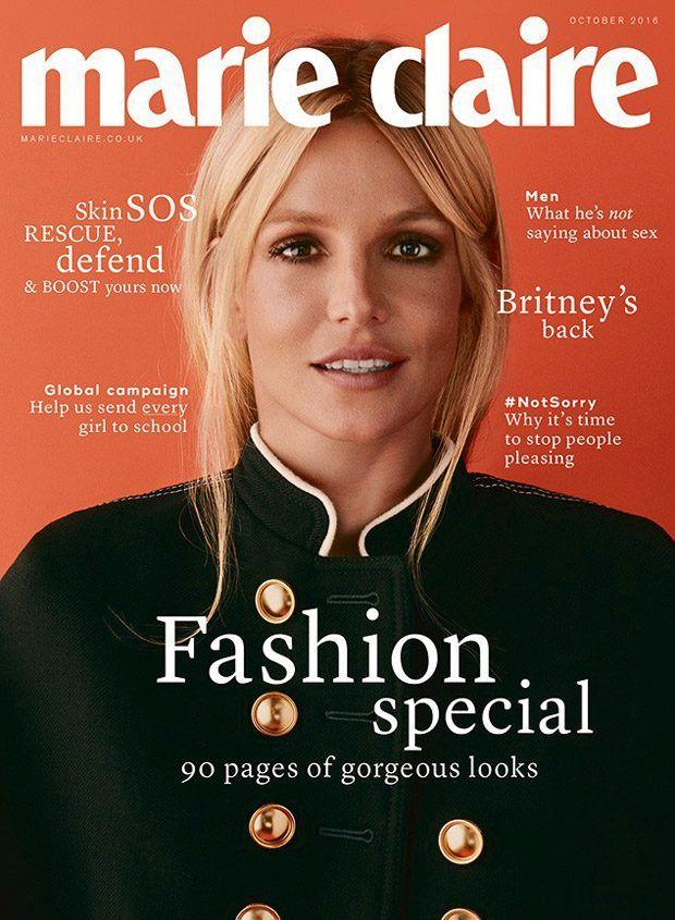 Бритни Спирс в Marie Claire (Интернет-журнал ETODAY)
