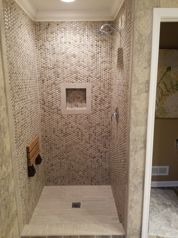 Bathroom Tile Ideas For Shower Walls 542 best bathroom pebble tile and stone tile ideas images on