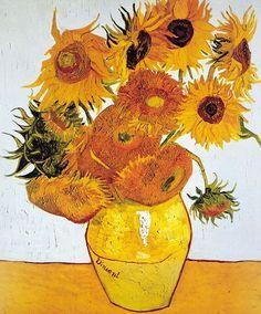 Os girassóis - Van Gogh (1888)