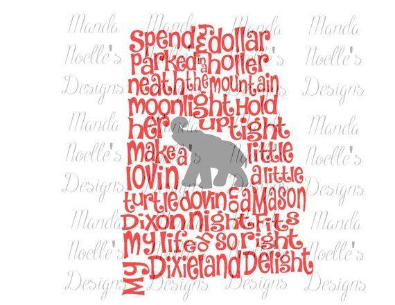 Dixieland Monogram (dixiemonogram) on Pinterest