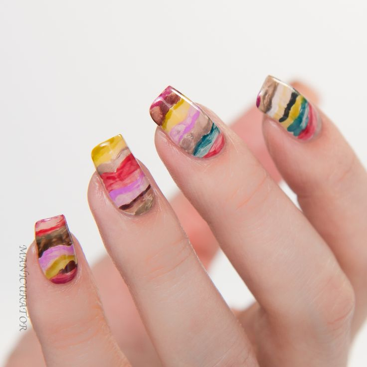 134 best Nail Art Fashion Week images on Pinterest   Manicures ...