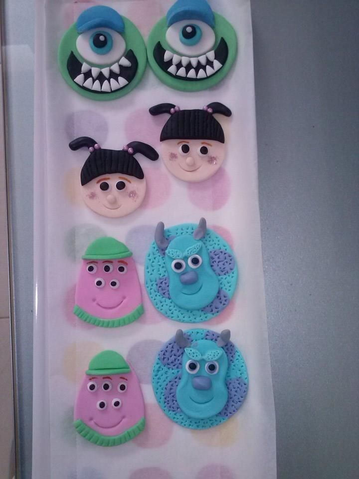 Galletas de Monsters Inc