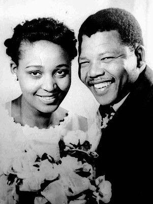 Nielson & Winnie Mandela, 1957.