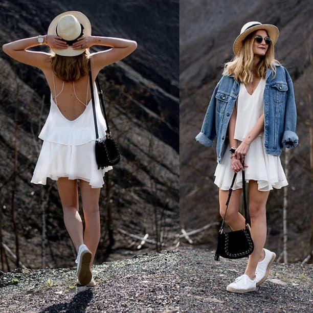 21 Outfits para usar tu chamarra de mezclilla cuando hace calor