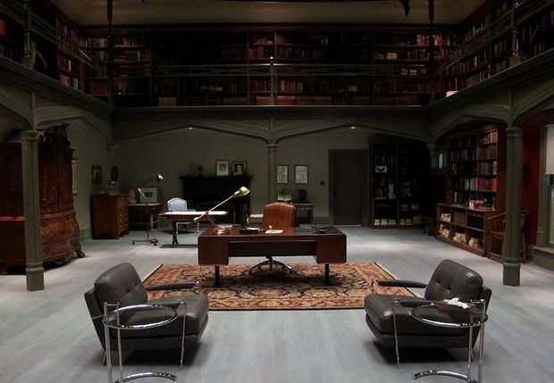 Hannibal Lecters Office From The Show Hannibal Look At