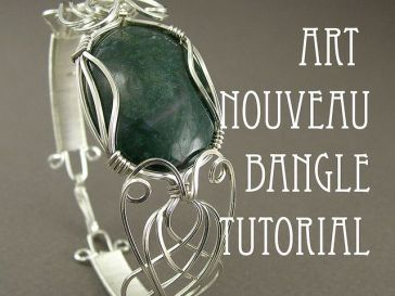 Tutorial DIY Wire Jewelry Image Description Wire masterclass - fish fins ~ Wire Jewelry Tutorials