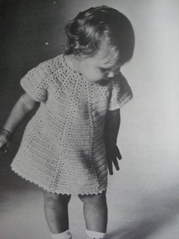 Amazing Vintage Crochet Patterns Baby Component - Blanket Knitting ...