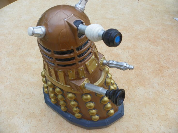 its not a Darlek, its a biscuit barrel
