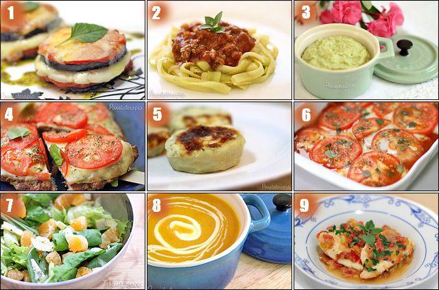 PANELATERAPIA - Blog de Culinária, Gastronomia e Receitas: 9 Receitas Low Carb