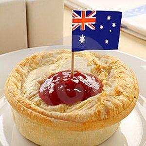 Traditional Aussie Four N' Twenty meat pie