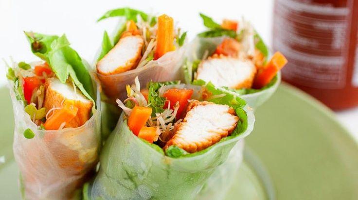 10 Easy Spring Roll Recipes | Homemade Recipes | https://homemaderecipes.com/spring-roll-recipes/