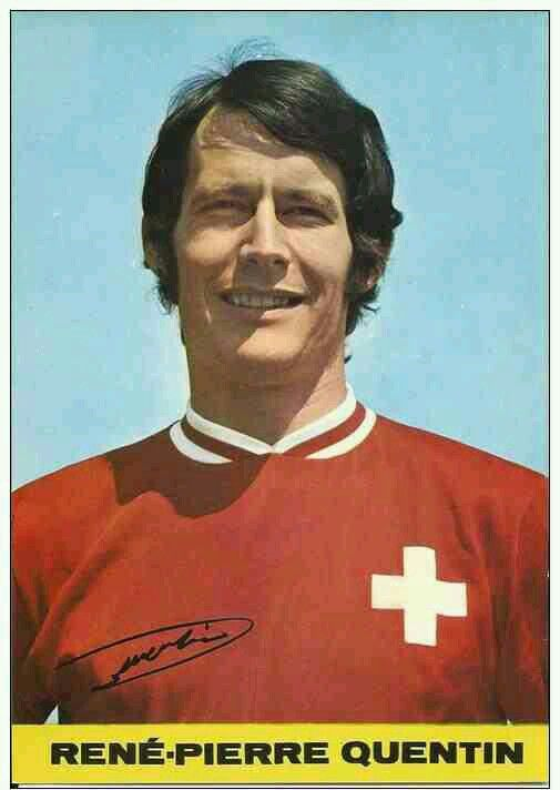 Rene-Pierre Quentin of FC Sion & Switzerland in 1966.