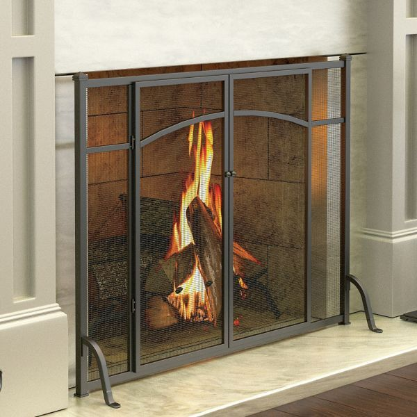 Hyde Park Flat Panel Fireplace Screen with Doors - 17 Best Ideas About Fireplace Screens On Pinterest Farmhouse
