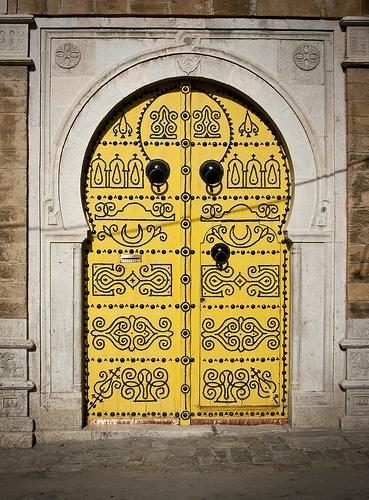 Plus de 1000 id es propos de id es pour les arts visuels for Decoration porte sidi bou said
