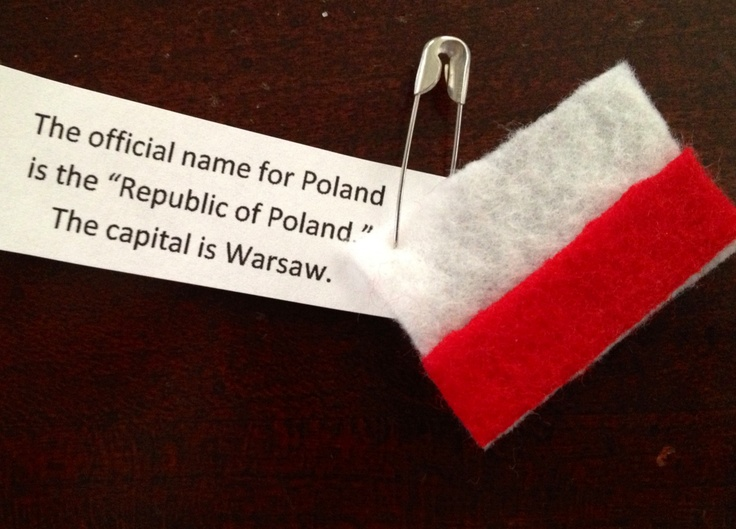 Poland Thinking Day Swap