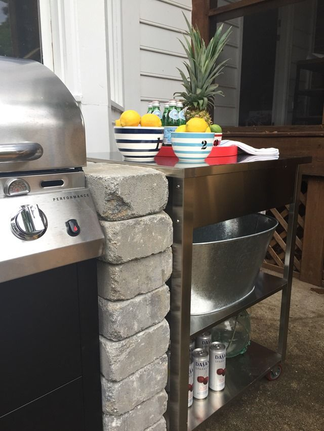 100 ideas to try about spice up the backyard gardens for Outdoor cooking station ideas