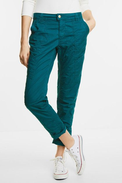 Casual Fit Hose Kelly