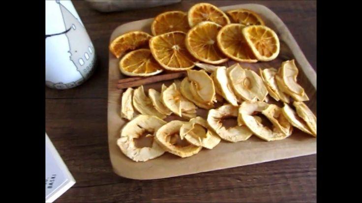 Fırında portakal ve elma kurusu nasıl yapılır? (How to make your own dried fruits at home in the winter?) Bu kanal sağlıklı pratik tarifler, vegan tarifler, ...