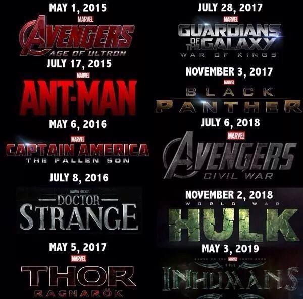 marvel film universe phase 3