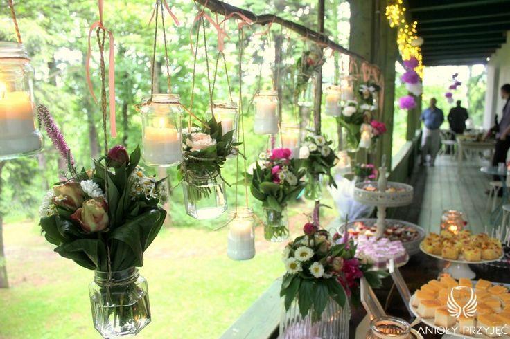 9. Cherry Wedding,Sweet table / Czereśniowe wesele,Słodki stół,Anioły Przyjęć