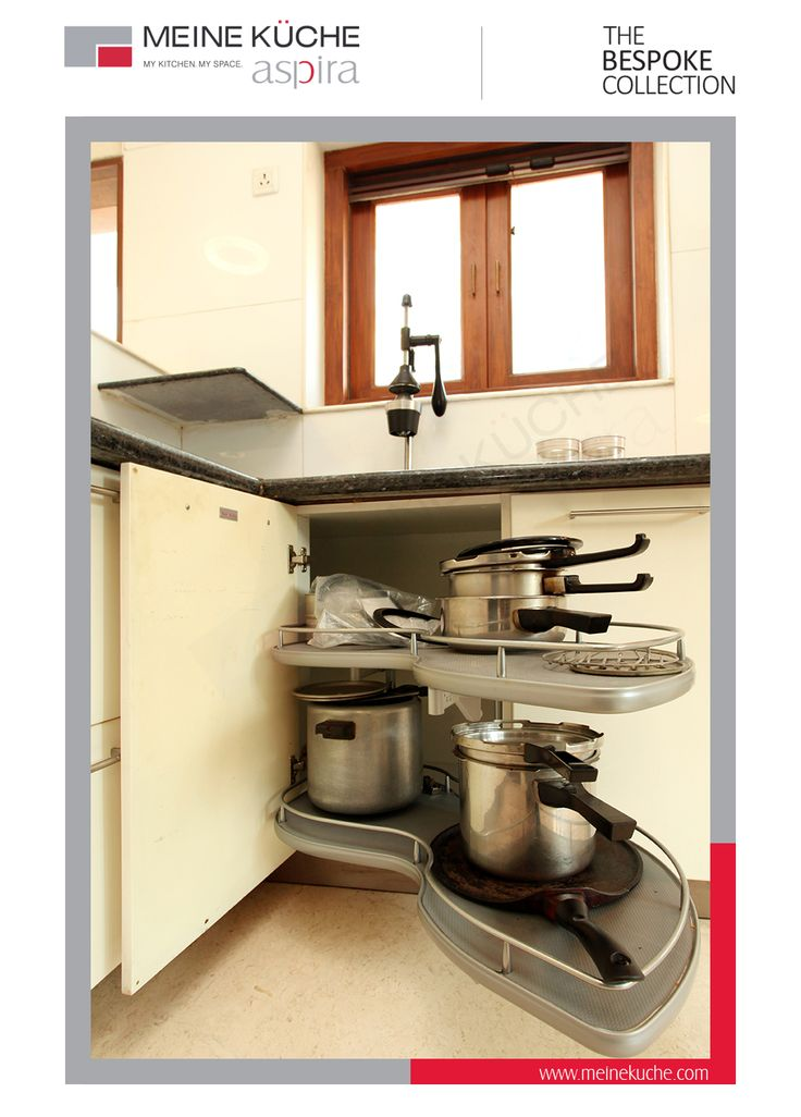 Twin Corner System for Blind corner spaces