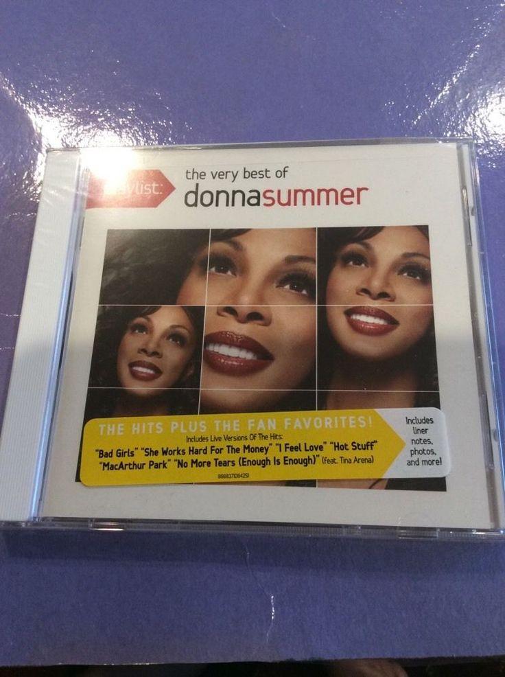 Playlist: The Very Best of Donna Summer by Donna Summer (Vocals)- MAKE OFFER
