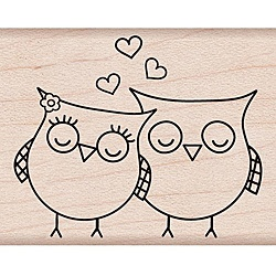@Overstock - Hero Arts wood mounted stamps are made with lightweight wood, foam and red rubber to give you a solid stamping performance. This stamp features a heart owls theme.http://www.overstock.com/Crafts-Sewing/Hero-Arts-Heart-Owls-Wood-Mounted-Rubber-Stamp/5593053/product.html?CID=214117 $4.51
