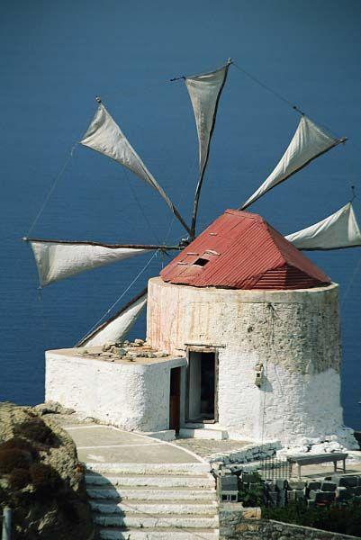 Karpathos in Dodecanese - Greece. Karpathos