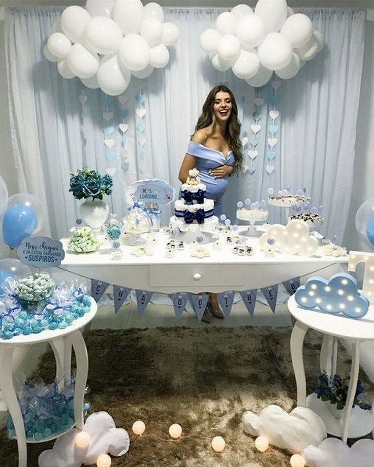 52 The Basic Facts Of Baby Shower Decorations Ideas For Boys 44 Aesthete Baby Shower Table Decorations Baby Shower Party Decorations Baby Shower Decorations