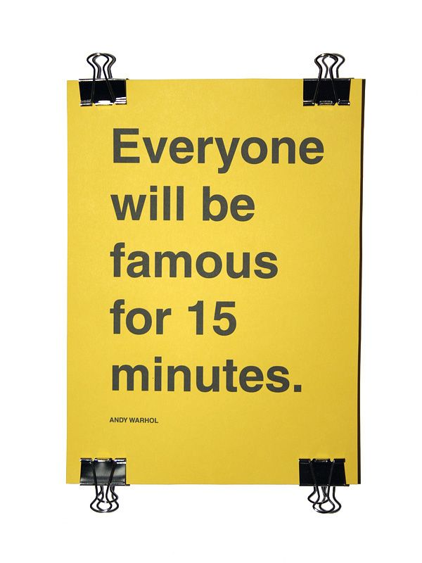 andy warhol quote posters - photo #12