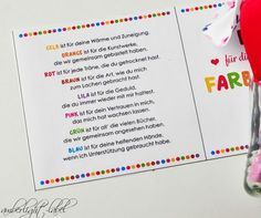 Abschiedsgeschenk Tagesmutter Dankeschön | amberlight-label