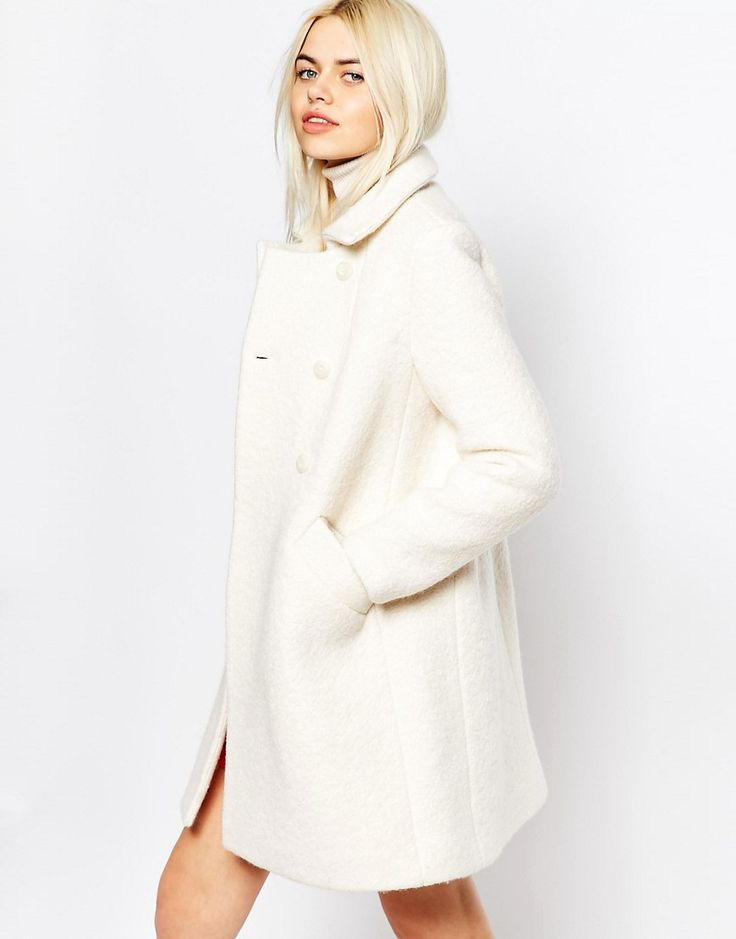Monki+Double+Breasted+Coat+60's+coat