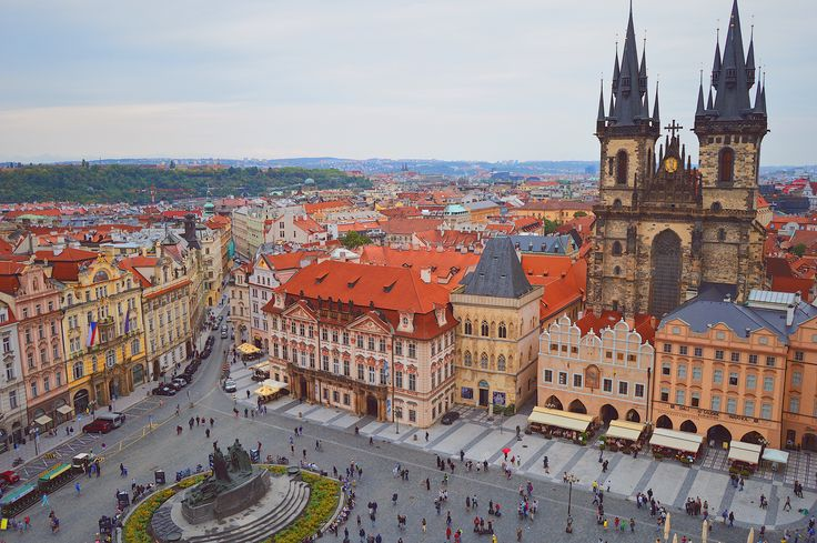 Old town square, Praha